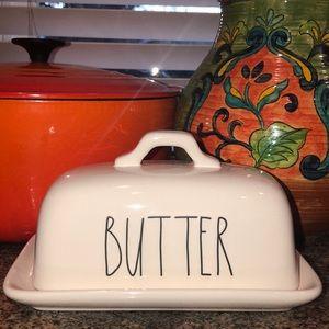New Rae Dunn butter dish.